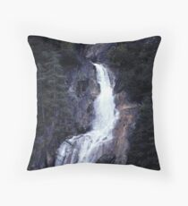 Waterfall (part 2) Throw Pillow