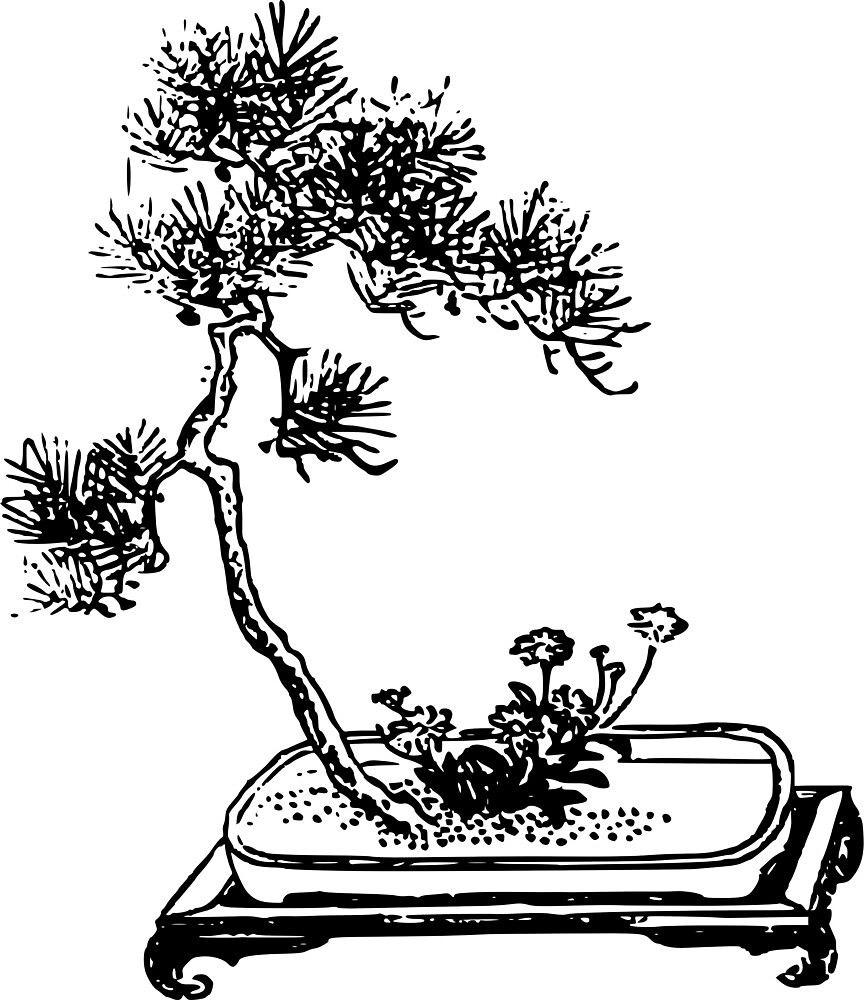 Bonsai Tree With Flowers by seriouscereal