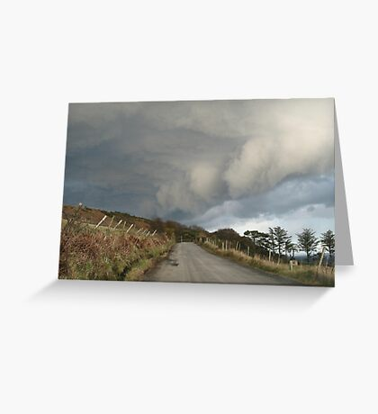 Unusual Clouds Greeting Card