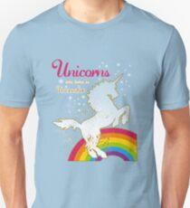 Unicorn - Einhorn - Fantasy / born in November Unisex T-Shirt