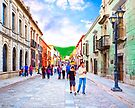 Afternoon Stroll in Historic Oaxaca Mexico by Mark Tisdale