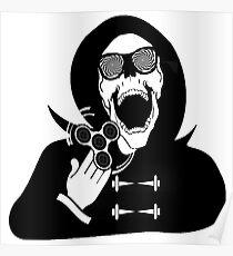 Fidget Spinner - Grim Reaper Poster