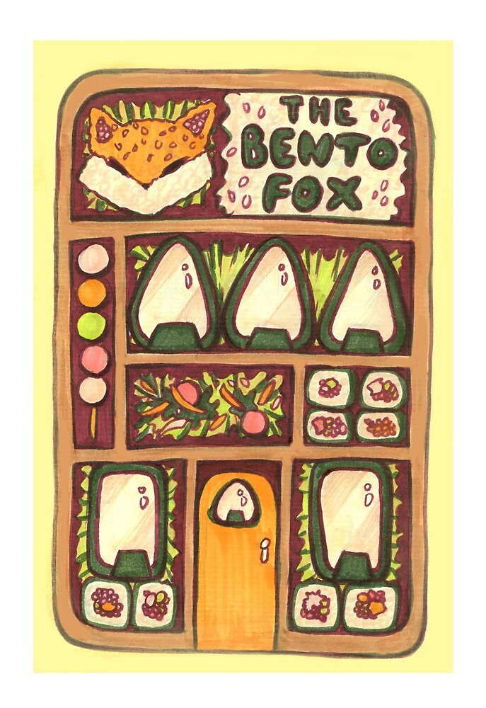 The Bento Fox by bianabova