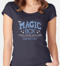 The Magic Box Women's Fitted Scoop T-Shirt