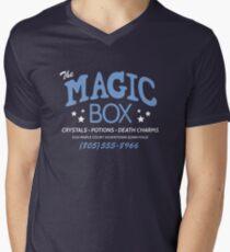 The Magic Box Mens V-Neck T-Shirt