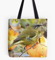 There Appears To Be A Bit Of A Tail Wind Today!!... - Bellbird - NZ Tote Bag