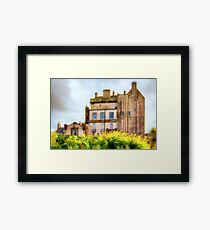 Delgatie Castle (near Turriff, in Aberdeenshire, Scotland) Framed Print