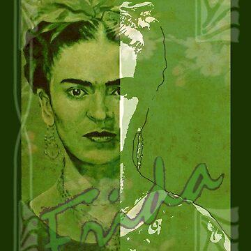 Frida Kahlo - between worlds by ARTito