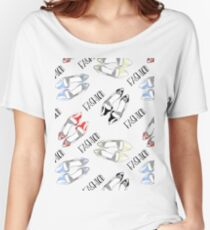 Fashion Shoes Pattern Women's Relaxed Fit T-Shirt