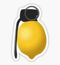 Lemon Grenade Sticker