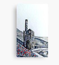 Wheal Coates Engine House Cornwall Canvas Print