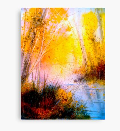 Sudden Gusts... Canvas Print