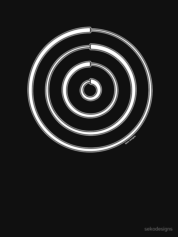 Mandala 27 Simply White by sekodesigns