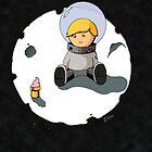Sad Astronaut Boy by labreject