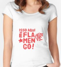 Flamengo Women's Fitted Scoop T-Shirt