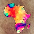 Africa map by JBJart
