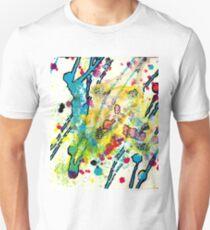 Experiments in Motion-Quad 1-Part 3 Unisex T-Shirt