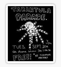 Tarantula Parade Sticker