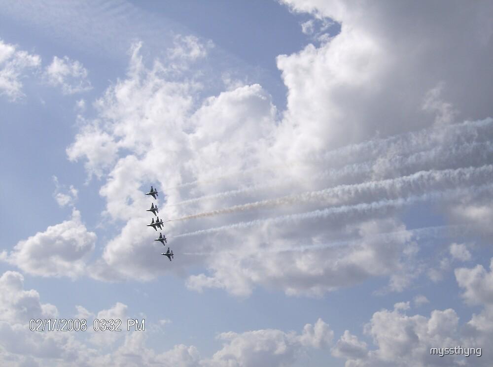 Thunderbirds by myssthyng