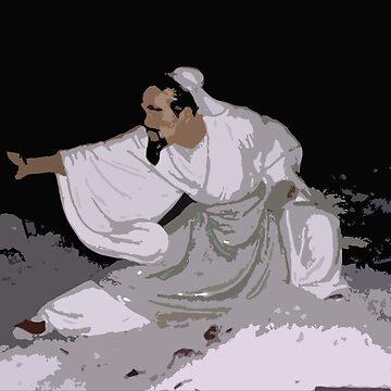 Shaolin Monk - Tai-Chi Master 2 by InfinitePathArt