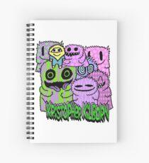 Magical Fantasy Buddies Spiral Notebook