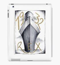 1932 - Ocean Liner Rex iPad Case/Skin