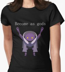 Become as Gods - Nier Automata Women's Fitted T-Shirt
