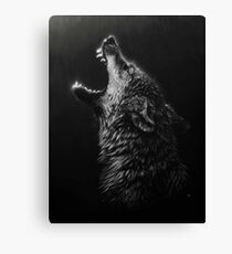 Pouring Howl Canvas Print