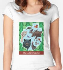 The Adirondacks Women's Fitted Scoop T-Shirt