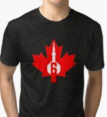 Toronto Canada The Six Tri-blend T-Shirt