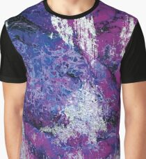 Violet Aura Graphic T-Shirt