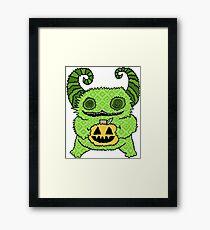 Happy Halloween Cutie Framed Print