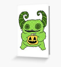 Happy Halloween Cutie Greeting Card
