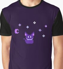 Night cat Graphic T-Shirt