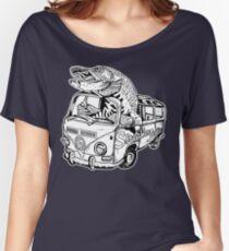 Streamer Junkies Logo Tee Women's Relaxed Fit T-Shirt