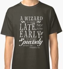 Questionable Punctuality Classic T-Shirt