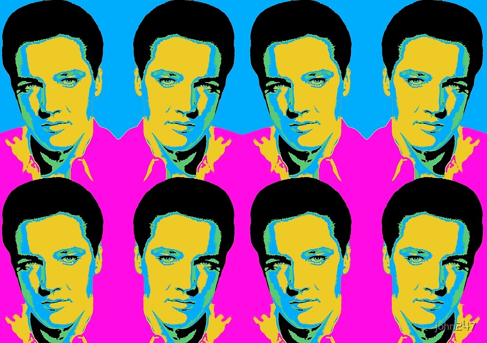 Elvis Presley by john247
