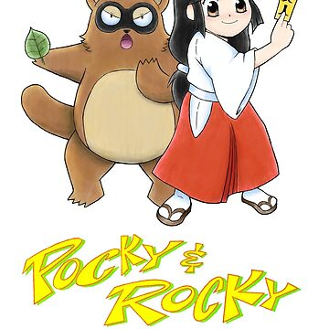 Pocky and Rocky (Super Nintendo Version) by PKtora