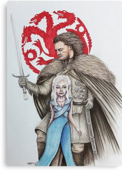 Inspired by Game of Thrones by Miranda Bosch-Thurlings