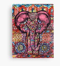 India inspired elephant Canvas Print