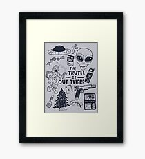 truth is out there Framed Print