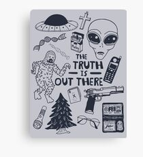 truth is out there Canvas Print