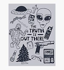truth is out there Photographic Print