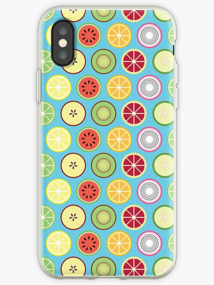 Funky Fruit Pattern by ImpyImp