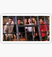 Friends TV Show Sticker