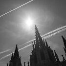 Geometry of Barcelona by Victor Bezrukov