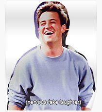 Chandler Bing Friends TV Poster