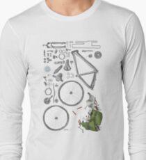 Bike's flatlay Langarmshirt