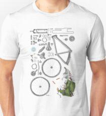 Bike's flatlay Unisex T-Shirt