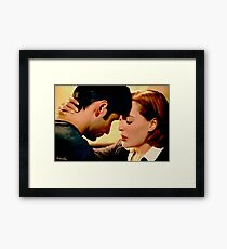 """""""You've made me a whole person"""" painting 2 Framed Print"""